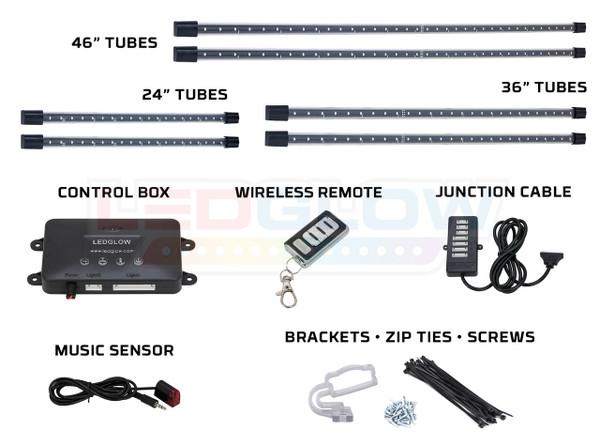 White Wireless SMD LED Truck Underbody Lighting Kit