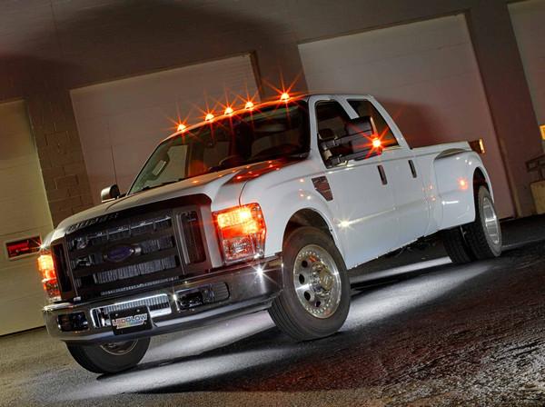 6pc White SMD LED Truck Underbody Lighting