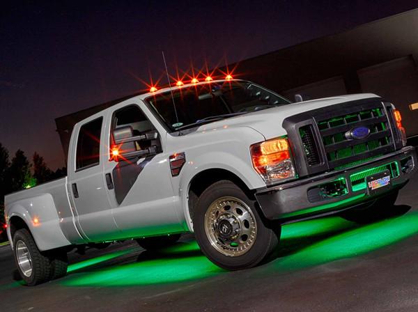 6pc Green Wireless SMD Truck Underbody Lights