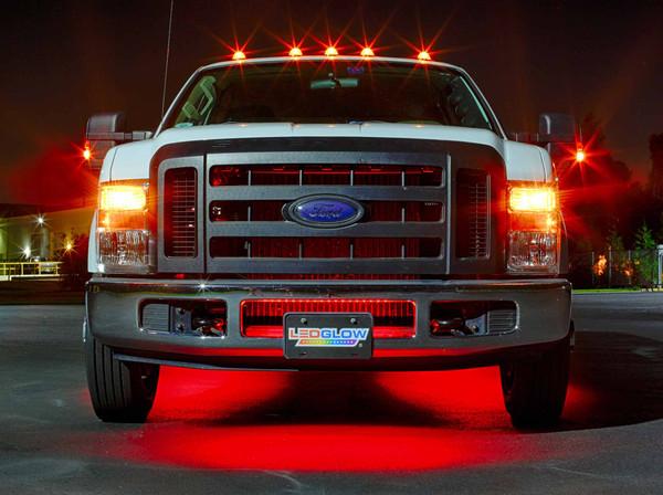 6pc Red Wireless SMD Truck Underglow