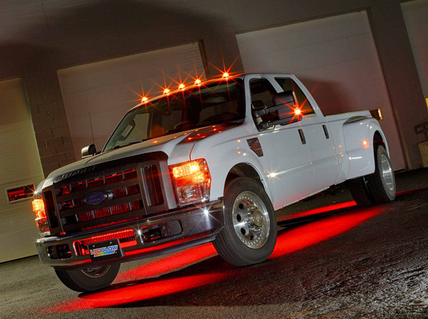 6pc Red SMD LED Truck Underbody Lighting