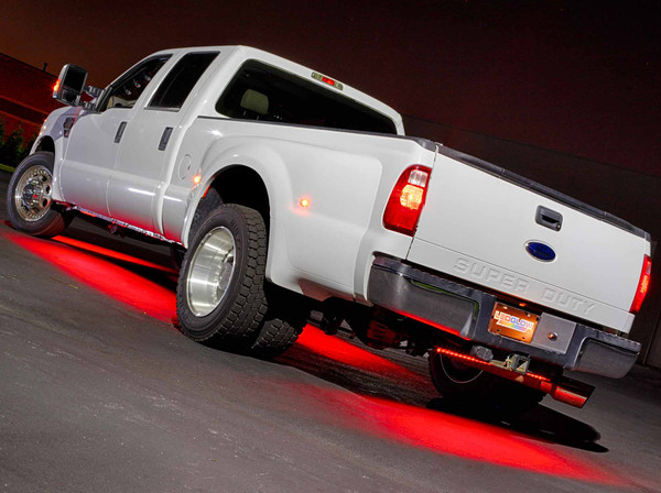 Red SMD LED Truck Underbody Lights