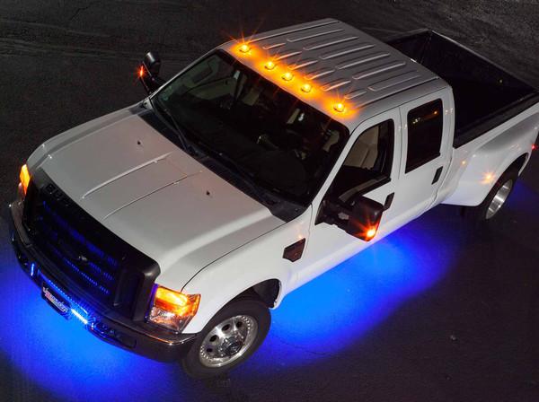 LEDGlow 6pc Wireless Blue SMD LED Underbody Lighting Kit
