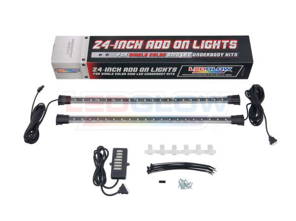 "24"" Single Color SMD Underbody Add-On Tubes Unboxed"