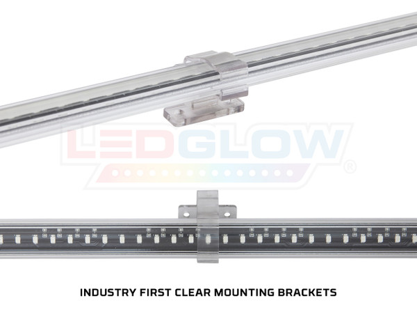 Clear Mounting Brackets