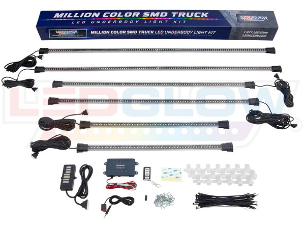 Million Color Wireless SMD LED Truck Underbody Lighting Kit Unboxed