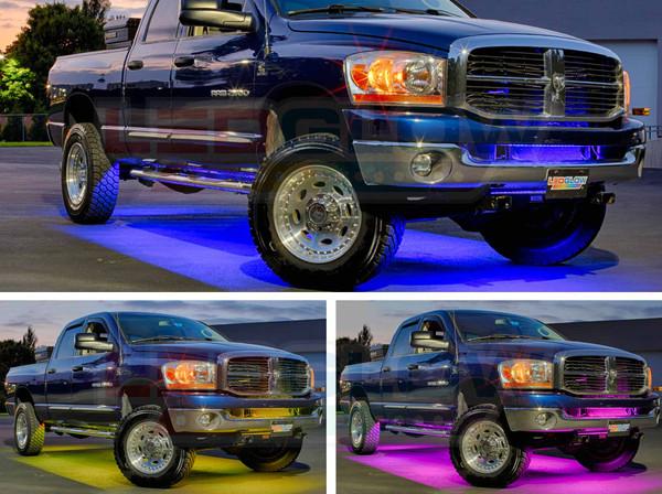 LEDGlow Million Color SMD LED Underbody Lights for Trucks