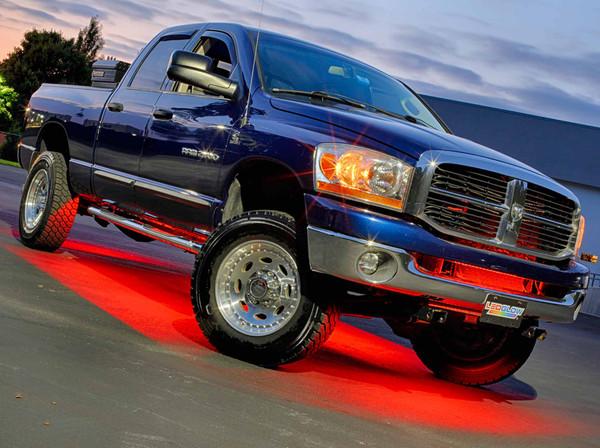 Million Color Wireless SMD LED Truck Underbody Lighting Kit