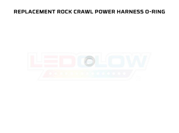 Replacement Rock Crawl Y-Splitter Power Harness O-Ring