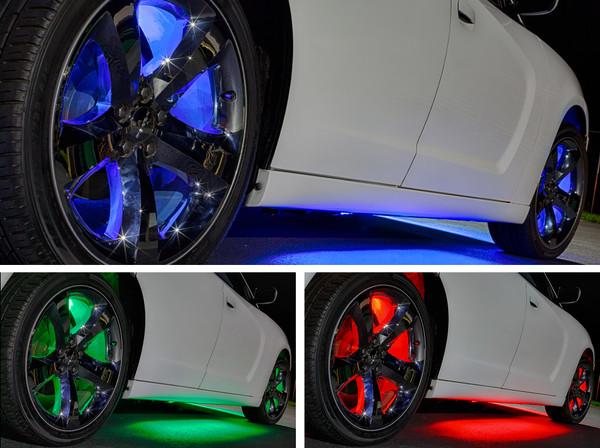 Add-On Million Color Wheel Well Fender Lights
