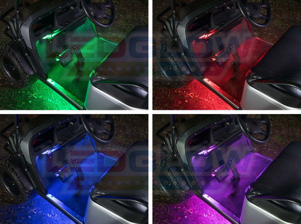 Million Color Golf Cart Interior Lights Add-On Kit