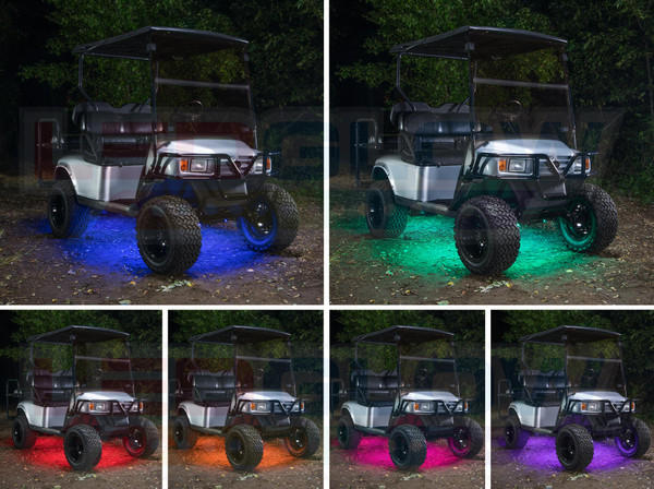 Million Color LED Golf Cart Underbody Lighting Kit
