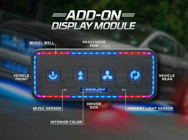 Add-On Display Module with Music Mode