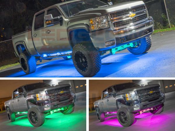 Smartphone Million Color SMD LED Truck Underbody Lighting Kit
