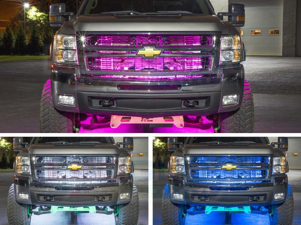 Grille Tube Installed to Chevrolet Silverado Truck