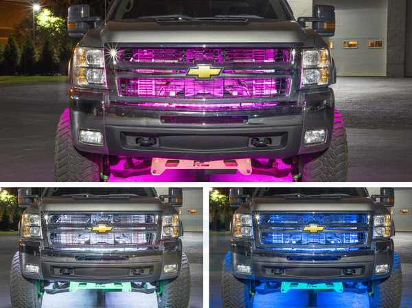Grille Tube Installed to Chevrolet Silverado Truck