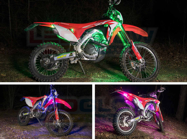 Dirt Bike LED Lighting Kit
