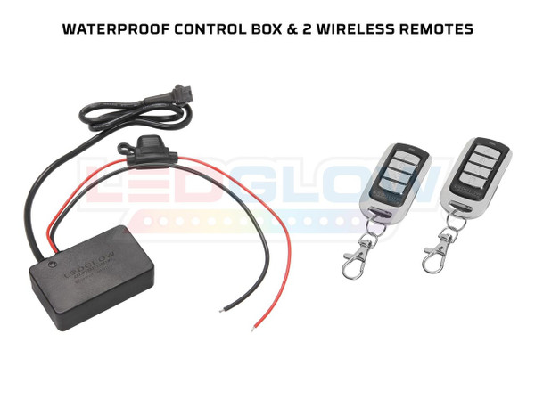 Waterproof Control Box & Wireless Remotes