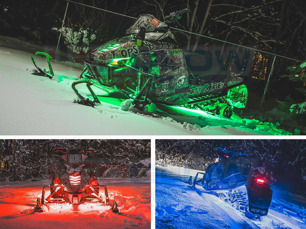 Snowmobile LED Lighting Kits