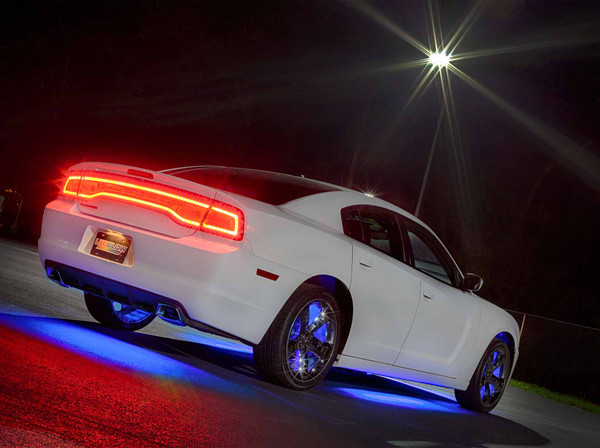 Blue Add-On Wheel Well Lights for Blue Underglow Light Kit