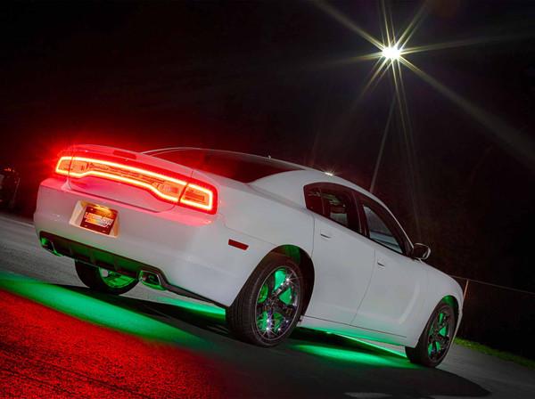 Green Add-On Wheel Well Lights for Green Underglow Light Kit