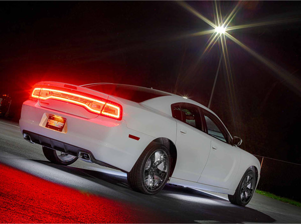 White Add-On Wheel Well Lights for White Underglow Light Kit