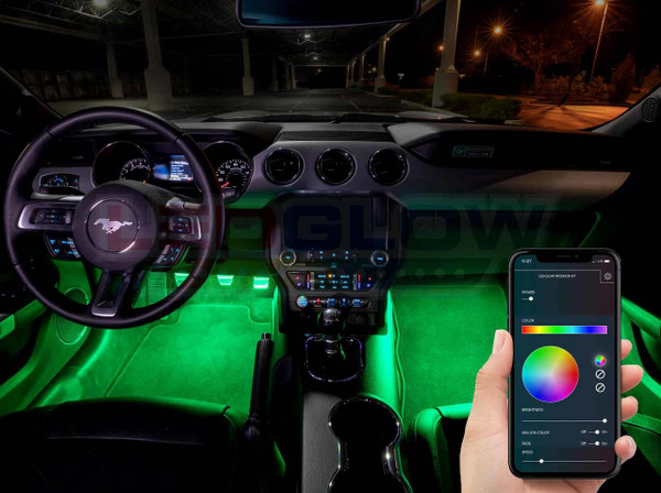 Million Color LED Interior Control Box with Smartphone Control