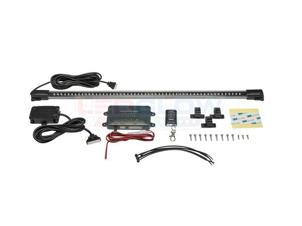 Million Color SMD LED Grille Lighting Kit Unboxed