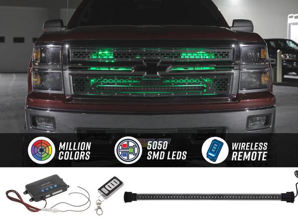Million Color SMD LED Grille Lighting Kit
