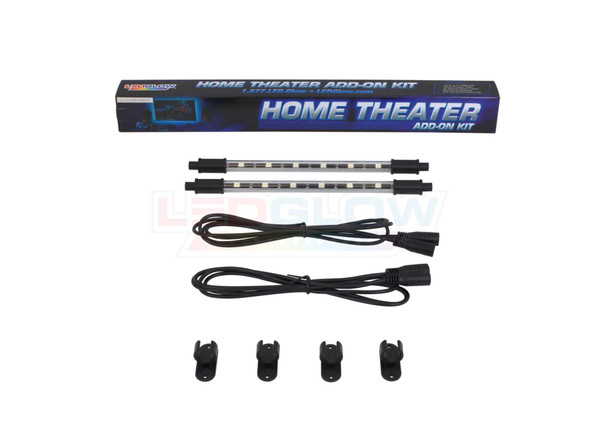 """2pc 9"""" Add-On Tubes for Million Color Home Theater Kit Unboxed"""