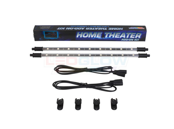 """2pc 15"""" Add-On Tubes for Million Color Home Theater Kit"""
