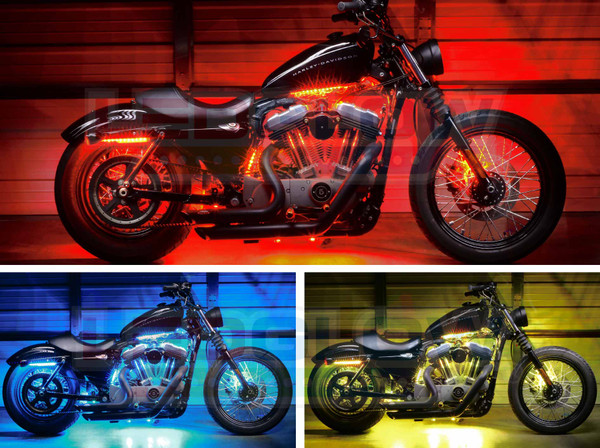 LEDGlow Advanced Million Color Motorcycle LED Lights