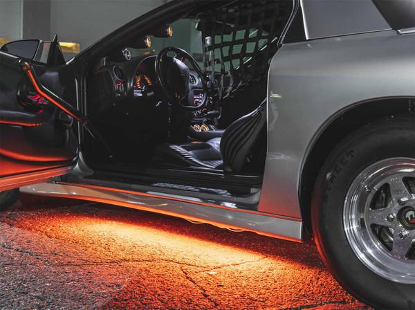 Orange Slimline LED Underbody Lighting Kit