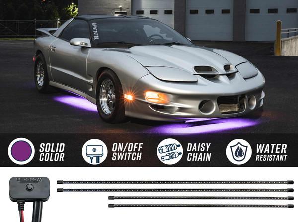Purple SMD LED Slimline Underbody Lighting Kit