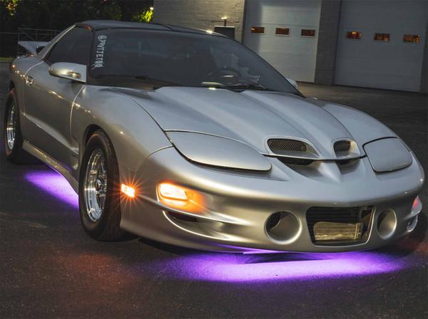 Purple LED Slimline Underbody Lights