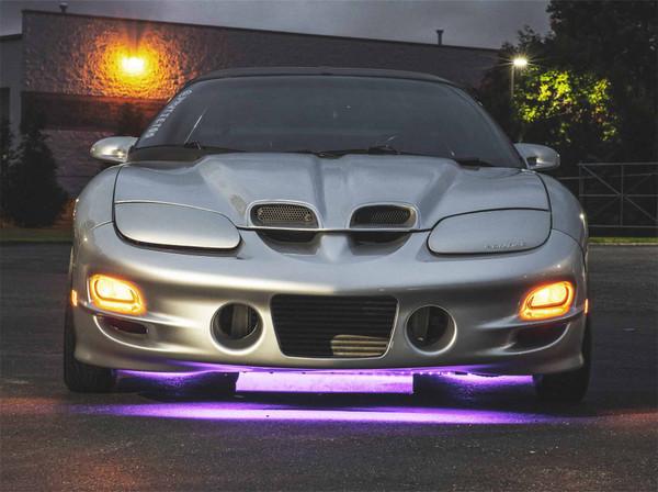 Purple Slimline LED Underbody