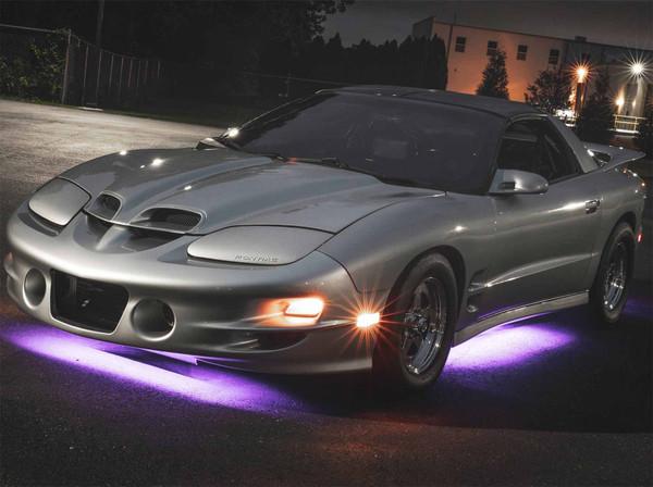 Purple Slimline LED Underbody Lighting Kit