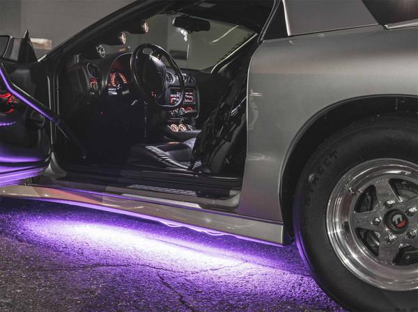 Purple Slimline Underbody