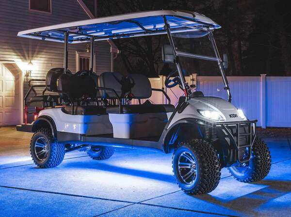 Million Color Expandable LED 6 Seater Golf Cart Underbody Lighting Kit