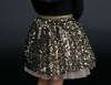 Shiny Sequined Skirt