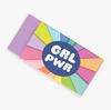 Girl Power Eraser - Set of 4