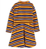 Velour Stripe Dress