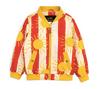Sun Stripe Baseball Jacket