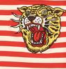 Red Oatmeal Striped Tee