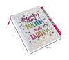 Glitter Journal & Pen - Unicorns & Rainbows