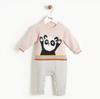 Panda Rainbow Playsuit