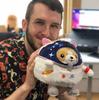 SQ Undercover Corgi in Astronaut