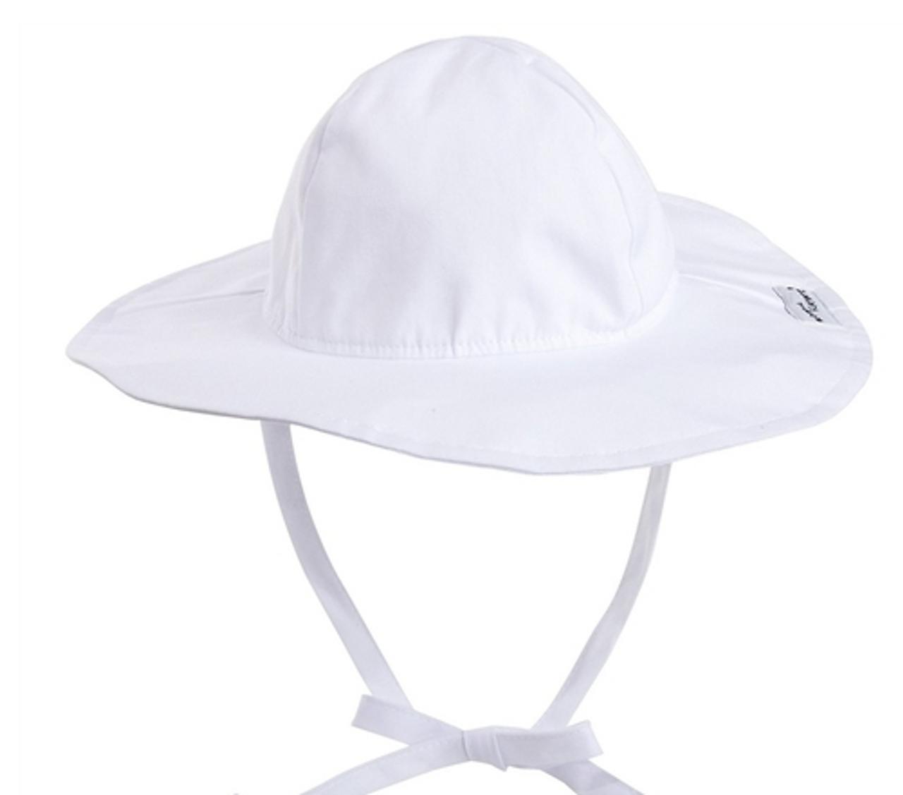 467c0ab48cd Flap Happy The Floppy Hat White Toddler Unisex