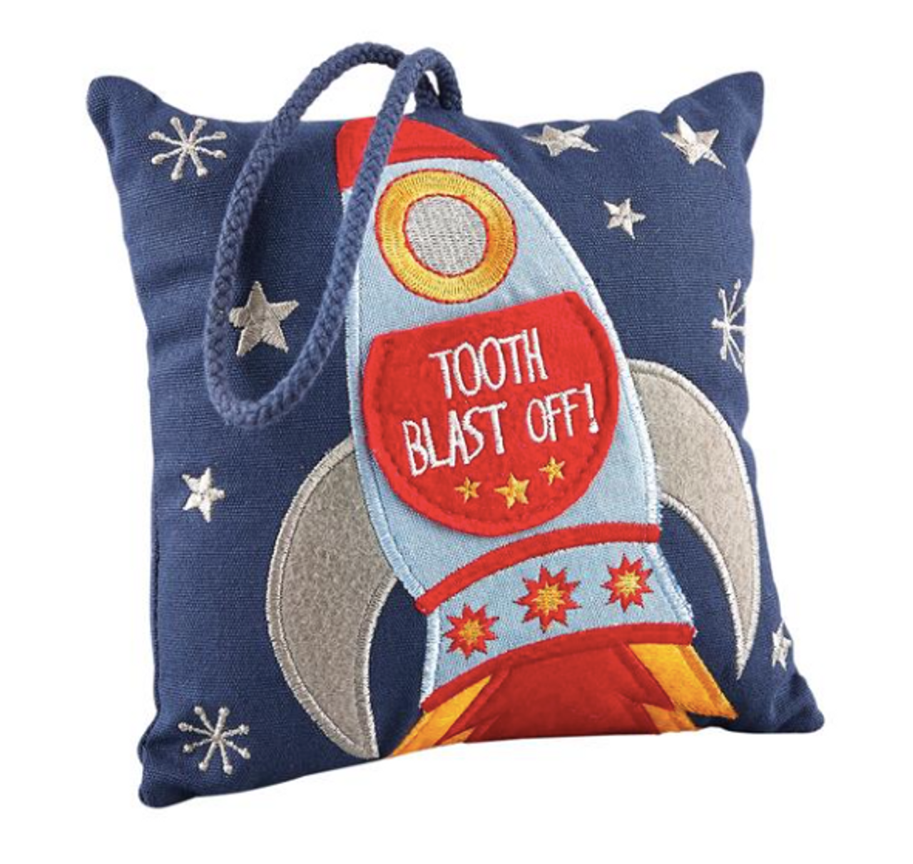 Tooth Fairy Pillow Rocket