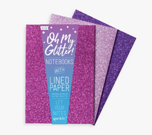 Oh My Glitter! Notebooks Amethyst